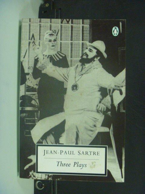 【書寶二手書T5/原文小說_KNO】Three Plays_Jean -Paul Sartre