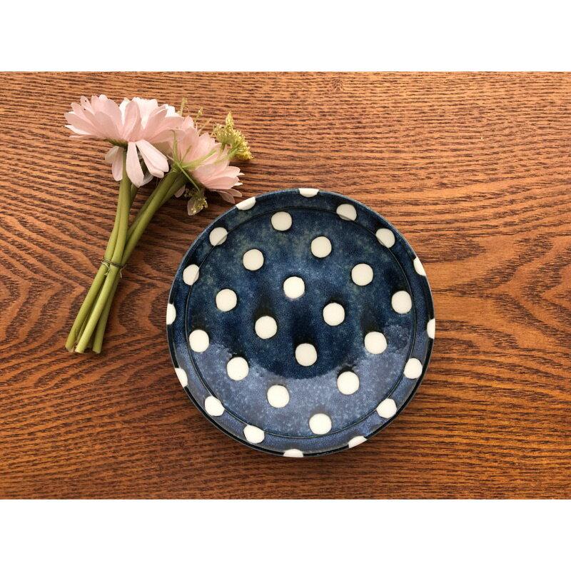 小糖瓷⎥日本製 超輕量點點陶味道點心盤 0