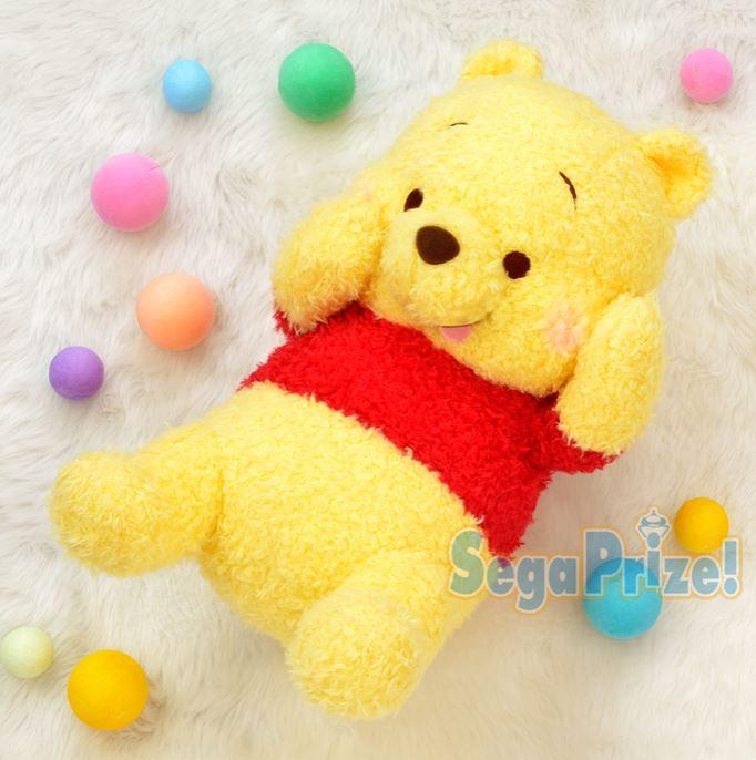 X射線【C029613】小熊維尼Winnie the Pooh 絨毛娃娃景品24x43cm,絨毛 / 填充玩偶 / 玩具 / 公仔 / 抱枕 / 靠枕 / 娃娃 1