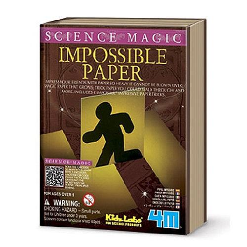 ~4M  DIY~Impossible Paper 魔法紙雕