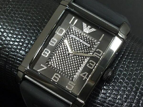 雅痞男子ARMANI 方形素雅簡潔矽膠錶帶型男配備男錶亞曼尼預購7天+現貨七天預購+現貨