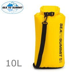 Sea to Summit 可揹負防水袋/輕量防水收納袋/70D背負防水袋 Sling Dry Bag 10L 黃色ASBAG10LYW