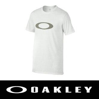 萬特戶外運動-美國 OAKLEY ONE ICON TEE 純棉圓領T恤 白色 保證公司貨 男 455328-100