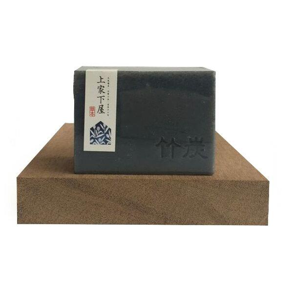 《上家下屋》竹炭抗油洗髮皂|天然草本手工皂 12010g /個