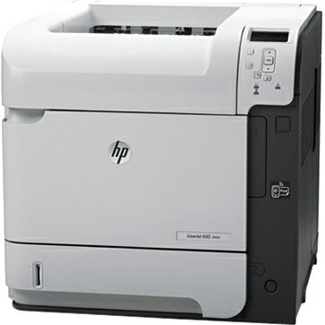 HP LaserJet 600 M602N Laser Printer - Monochrome - 1200 x 1200 dpi Print - Plain Paper Print - Desktop - 52 ppm Mono Print - 600 sheets Standard Input Capacity - 225000 Duty Cycle - LCD - Ethernet - USB 3