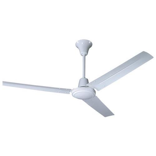 Caribbean Industrial Ceiling Fan, White 0