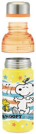 日貨 水壺 史努比 保冰 保溫 水瓶 喝水 保溫瓶 不鏽鋼 隨行杯 環保杯 環保 snoopy 正版 J00015225