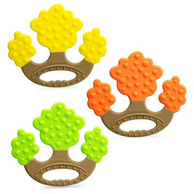 【安琪兒】【mombella】蘋果樹固齒器(3色) - 限時優惠好康折扣