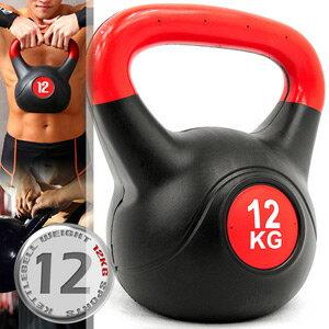 12公斤壺鈴KettleBell重力(26.4磅)12KG壺鈴.拉環啞鈴搖擺鈴.舉重量訓練.運動健身器材.推薦哪裡買C109-2112