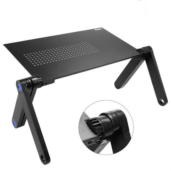Adjustable Foldable Laptop Desk Table Stand Tray 1