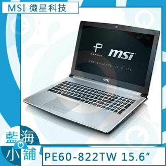 MSI微星PE60 6QE-822TW Intel Core i7-6700HQ四核處理器 GTX960M獨顯 x Windows 10 筆記型電腦