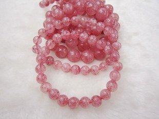草莓石手鏈 女士手鏈 薔薇石手鏈 草莓石飾品