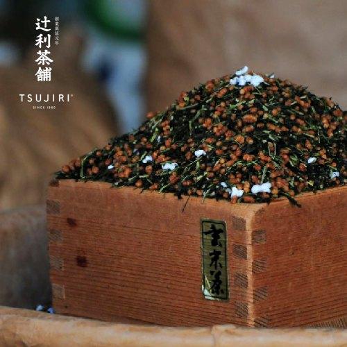 【辻利茶舗 x HARIO】辻光茶道具禮盒 (夜月),波特保冷泡茶壺400ml+松印玄米茶100g。 3