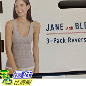 [COSCO ] C1187838 JANE   BLEECKER TANK 3PK 女可前後穿背心三入 亞洲尺寸:S-XL