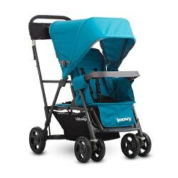 【淘氣寶寶】 新款 美國 joovy 新款 輕量級 雙人推車 / 兄弟車【藍色】【公司貨】