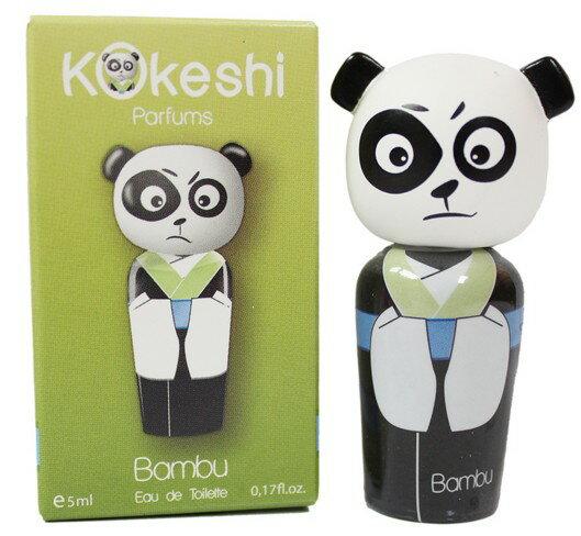 Kokeshi Bambu 友誼娃娃男性淡香水 熊貓 版 5ML ~真愛香水~
