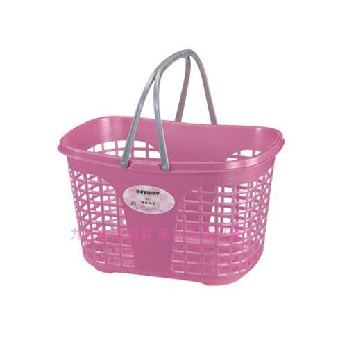 【九元生活百貨】聯府 F520 環保購物籃 置物籃 洗衣籃 菜籃