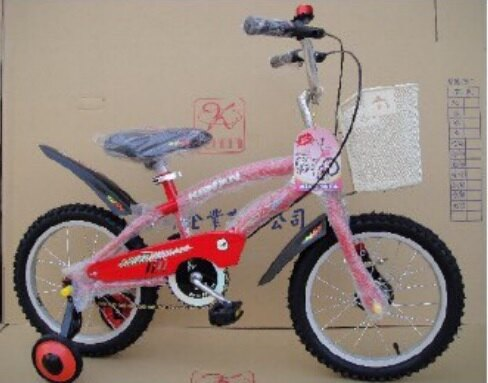 【淘氣寶寶】【格楠腳踏車-全台製】16吋腳踏車/三輪車 紅色