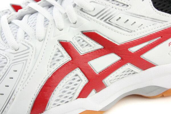 亞瑟士 ASICS RIVRE EX 7 羽排球鞋 運動鞋 白色 男鞋 TVR482-0123 no316 2