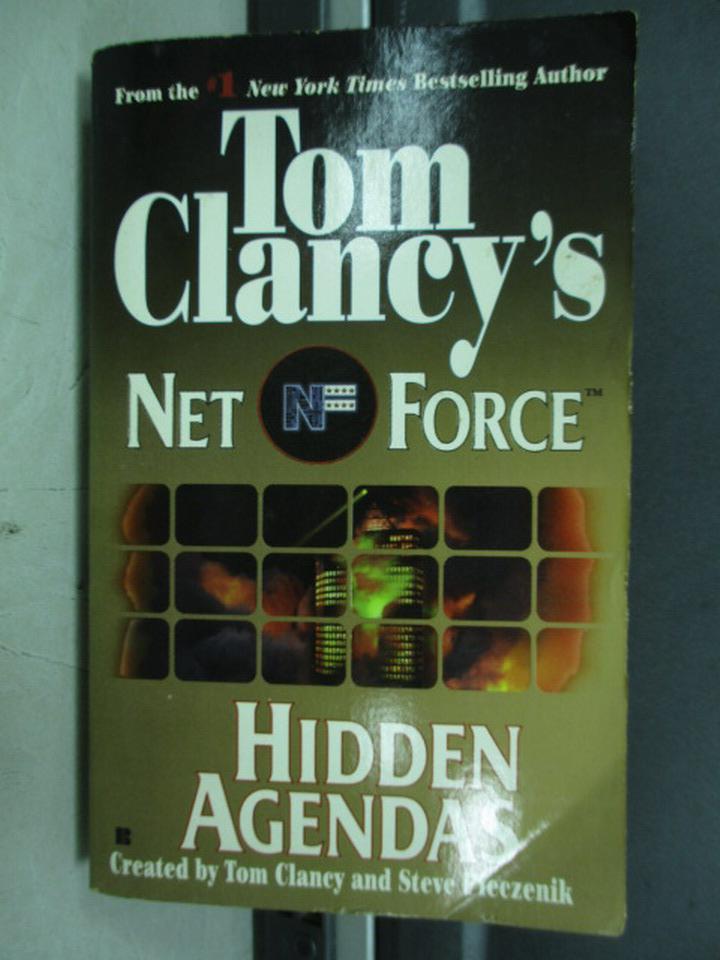 【書寶二手書T2/原文小說_IQX】Hidden Agendas_Tom Clancy's