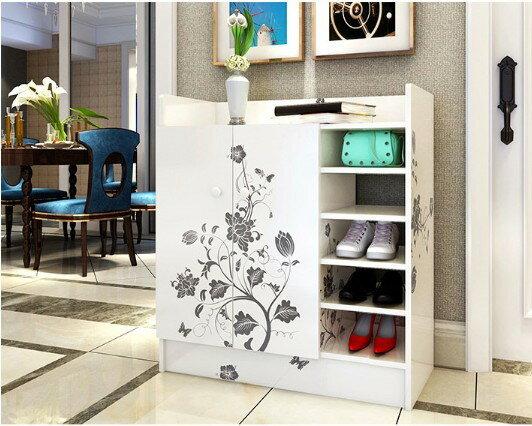 鞋櫃玄關櫃置物櫃收納櫃鞋盒大容量簡易鞋櫃鞋架現代簡約風《mamago》預購商品420到貨