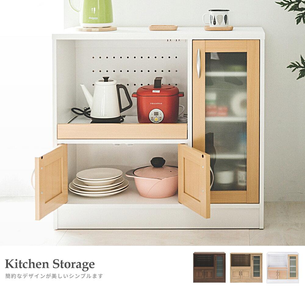 廚房收納 / 餐櫥櫃 / 電器櫃 夏洛電器收納廚房櫃(三色) 完美主義【N0057】 2