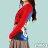 【Milida,全店七折免運】-秋冬單品-上衣款-人物插畫藝術拉鍊款 8