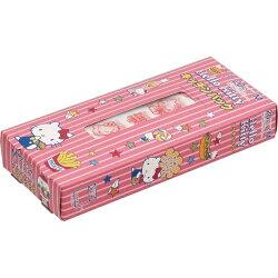 X射線【C940046】Hello Kitty 日本製塑膠袋20入,收納袋/分類袋/多用途袋/食物保鮮夾鏈袋/分裝袋