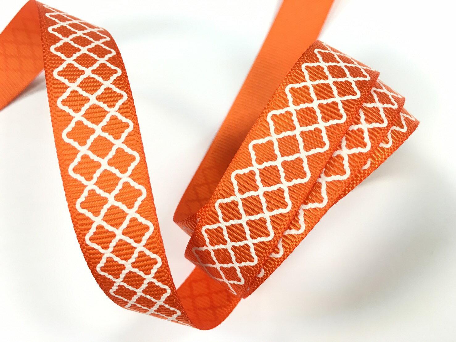 羅紋緞帶-網格 15mm 3碼裝 (5色) 2