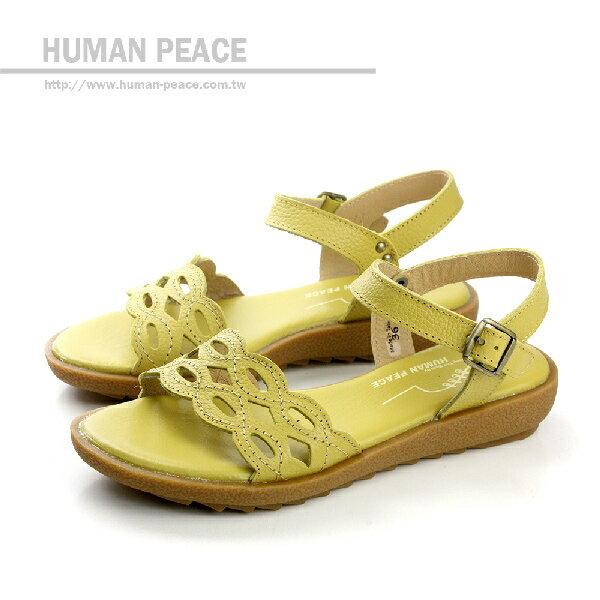 HUMAN PEACE 涼鞋 黃色 女鞋 no054