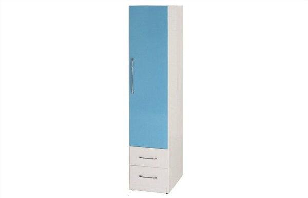 【石川家居】821-05(藍白色)衣櫥(CT-109)#訂製預購款式#環保塑鋼P無毒防霉易清潔