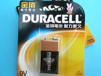 金頂電池四角9V鹼性電池1個入/一卡入{促99}~正台灣代理商進口~