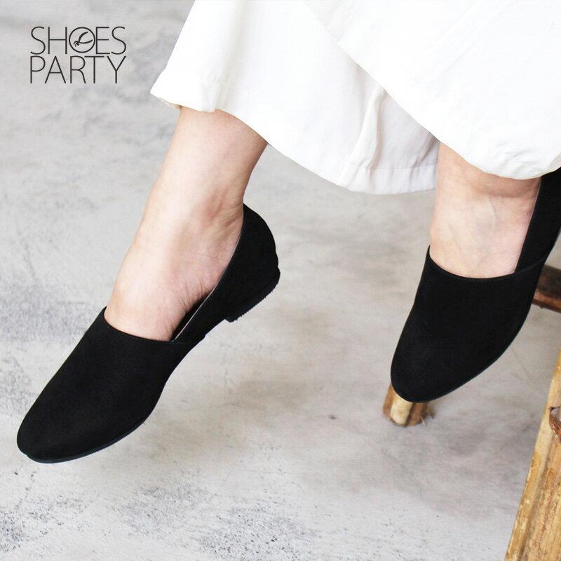 【C2-18105L】製造長腿效果的拼接歐貝拉_Shoes Party 2