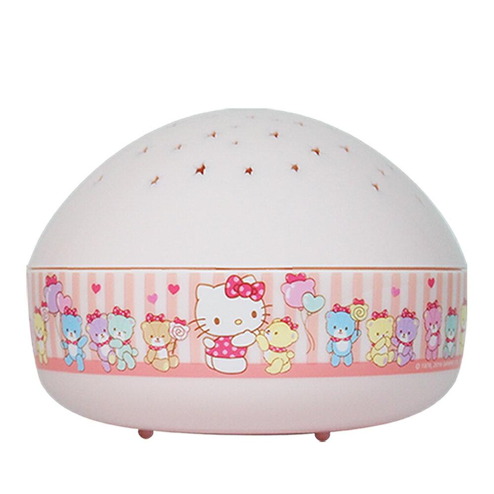 Lumitusi- Hello Kitty 滿天星 LED 星星投射小夜燈 2