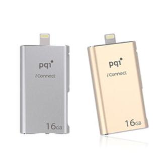 PQI iConnect 蘋果專用雙享碟 16GB USB 3.0 蘋果MFi認證通過 好買網