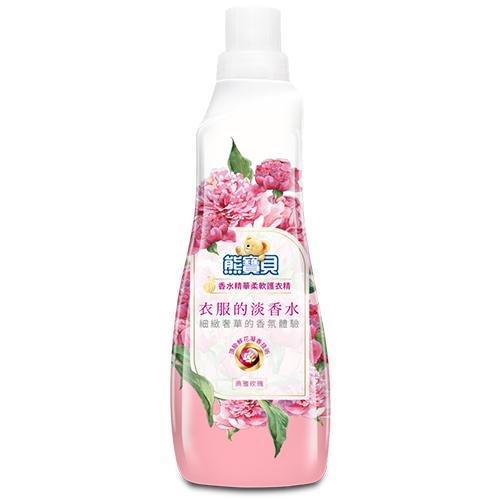 熊寶貝 香水精華柔軟護衣精(典雅玫瑰)700ml【愛買】 - 限時優惠好康折扣