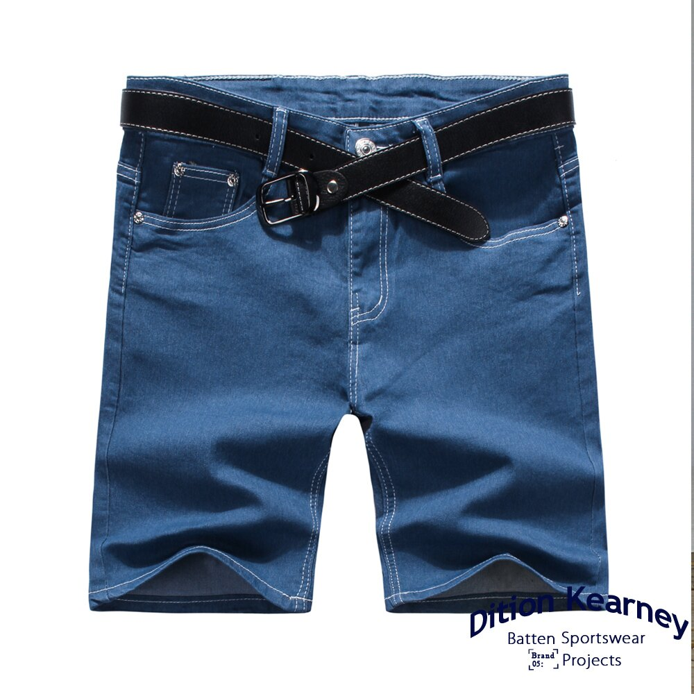 DITION SHOP 韓系原色DENIM丹寧牛仔短褲 GD足球襪 跑鞋 3