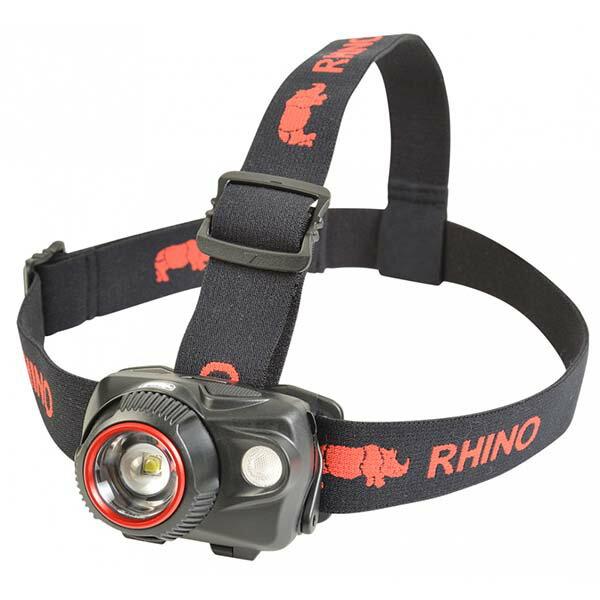 《台南悠活運動家》RHINOHL-700強力雙光源變焦LED頭燈