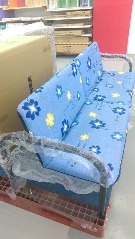 【八八八】e網購~【鋼管摺疊沙發床 】折疊床 坐臥兩用床 鋼管沙發椅