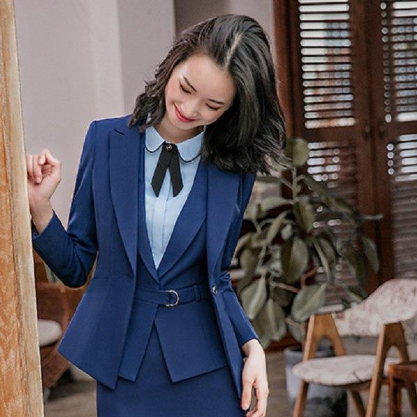 灰姑娘[8S001-PF]單粒釦純色西裝領OL長袖西裝外套~上班面試