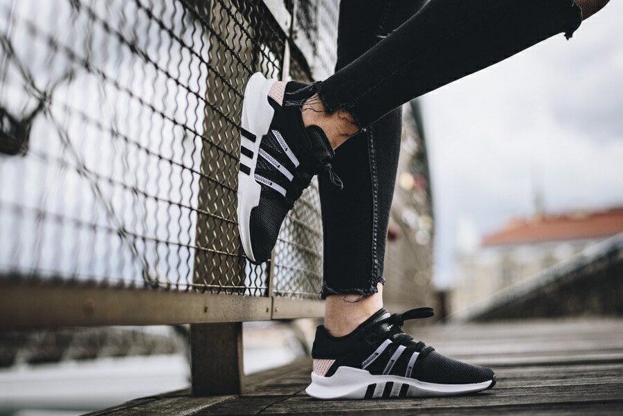 Adidas Originals EQT Racing 女款 黑粉配