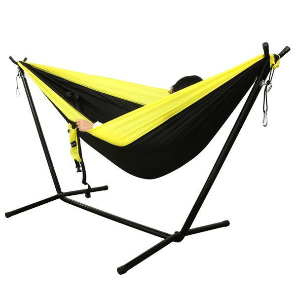 Camping DoubleNest Hammock with Metal Straps 3