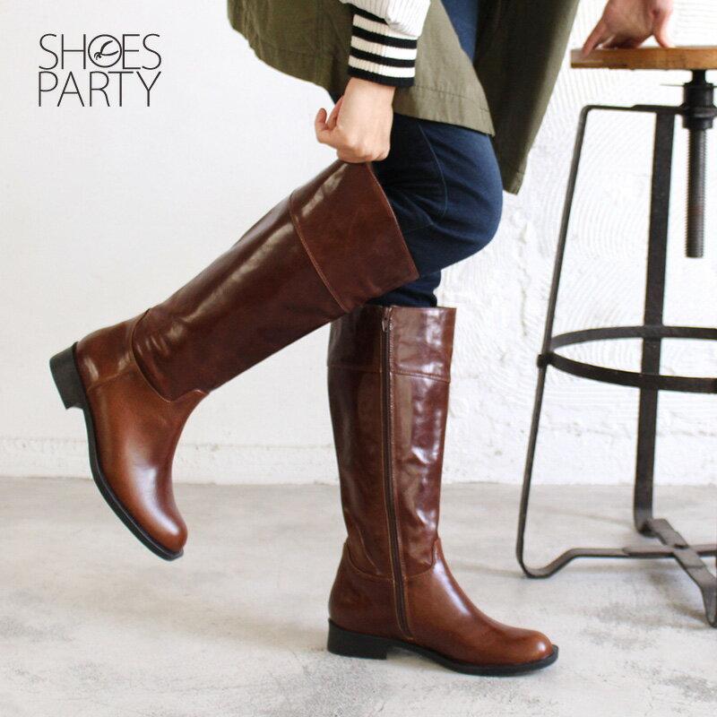【B2-17340L】修飾小腿肚真皮率性乘馬靴_Shoes Party 3