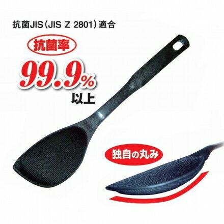 【日本備長炭】煎匙鍋鏟(不沾鍋適用)_30㎝~抗菌率達99.9%以上‧日本製✿桃子寶貝✿