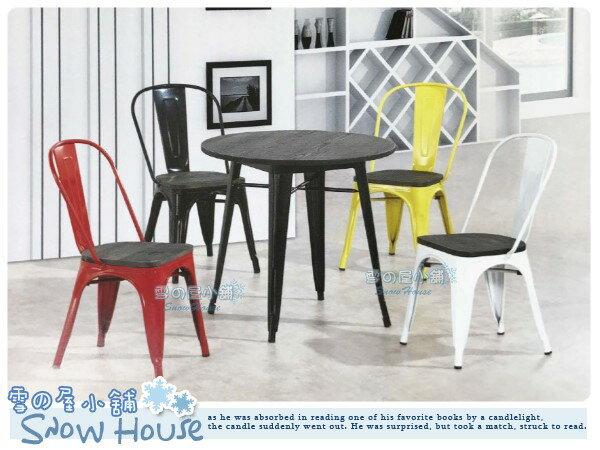 ╭☆雪之屋居家生活館☆╯R585-02/03/04/05 工業風餐椅(鐵腳/橢圓背+深色木板)/造型椅/會客椅/北歐風情
