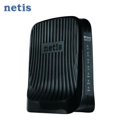 netis WF2412 150Mbps 直立式光速無線寬頻分享器【三井3C】