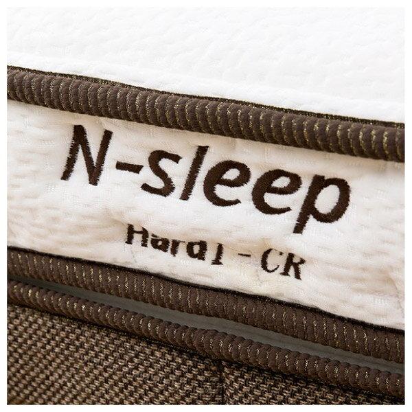 ◎硬質彈簧 獨立筒彈簧床 床墊 N-SLEEP H1-CR 單人 NITORI宜得利家居 5