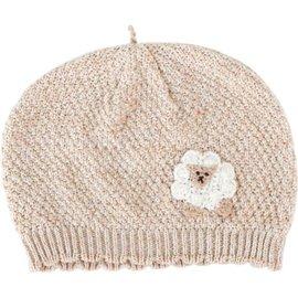 Hoppetta - 有機棉綿羊針織帽 0