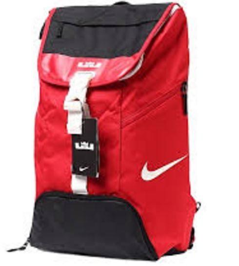 Nike LeBron Max Air Ambassador 背包 後背包 LeBron 雙肩 氣墊 紅 黑【運動世界】BA5111-657