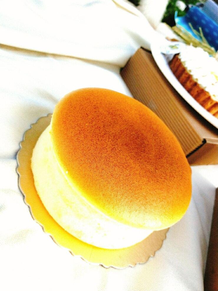 乳酪蛋糕 輕乳酪 北海道輕乳酪 尺寸:6吋